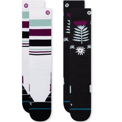 Stance Womens Snow Socks Monro 2-Pack