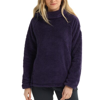 Burton Lynx Fleece Pullover Purple Velvet