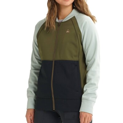 Burton Crown Bonded Jacket Aqua Grey