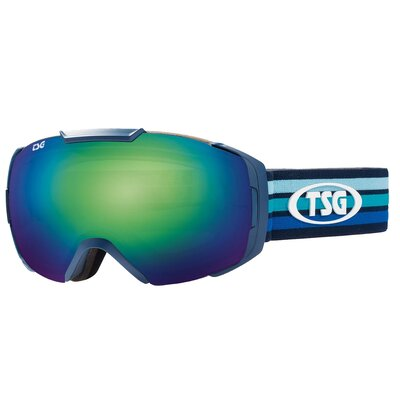 TSG Goggle One Fuel Green Chrome + Bonus Lens