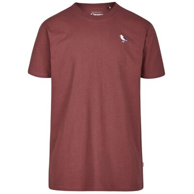 Cleptomanicx T-Shirt Embro Gull Port Royal