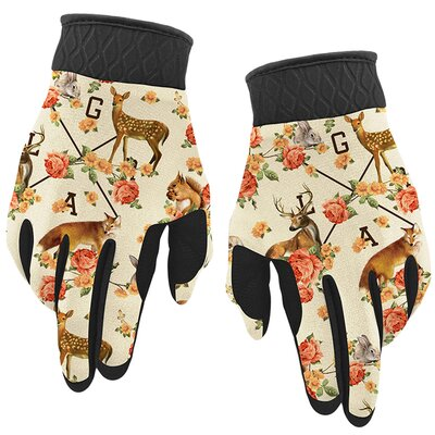 Loose Riders Bike Gloves Forest Animals