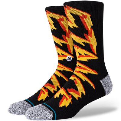 Stance Combed Cotton Socks Electrified Black
