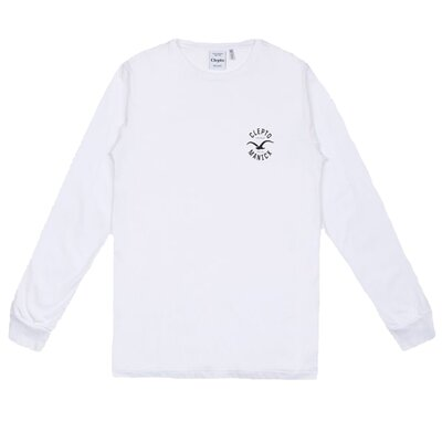 Cleptomanicx Longsleeve Tee Games White