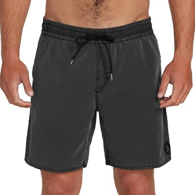 Volcom Center Trunk 17 Boardshort Black