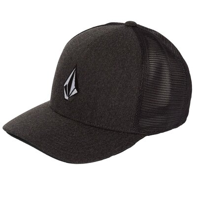 Volcom Full Stone Cheese 110 Cap Charcoal Heather