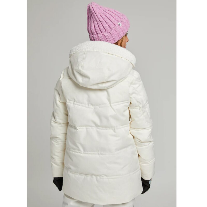 Burton Larosa Puffy Jacket Stout White