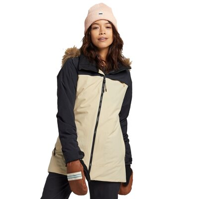 Burton Lelah Jacket True Black / Irish Cream