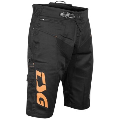 TSG Worx Bike Shorts Black/Orange