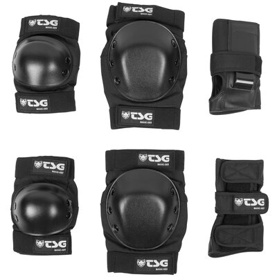 TSG Protection Set Basic Black