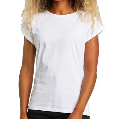 Dedicated Tee Visby Base White