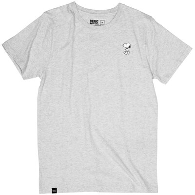 Dedicated T-Shirt Stockholm Snoopy Grey Melange