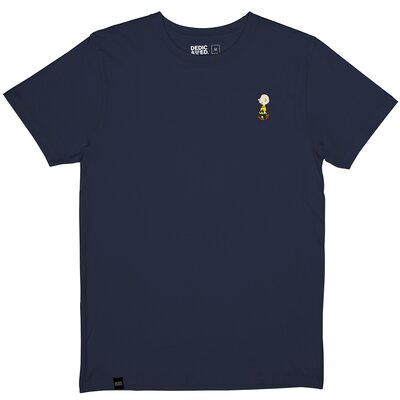 Dedicated T-Shirt Stockholm Charlie Brown Navy