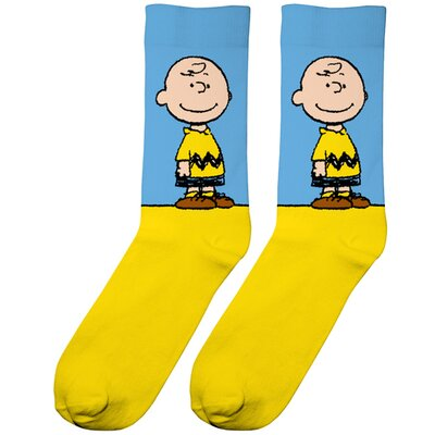 Dedicated Socks Sigtuna Charlie Brown Yellow