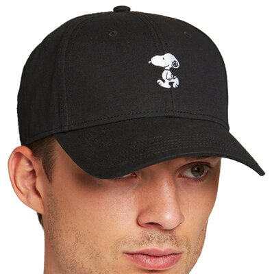 Dedicated Sport Cap Snoopy Black