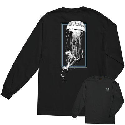Dark Seas Jelly Glow Ink Longsleeve Tee Black