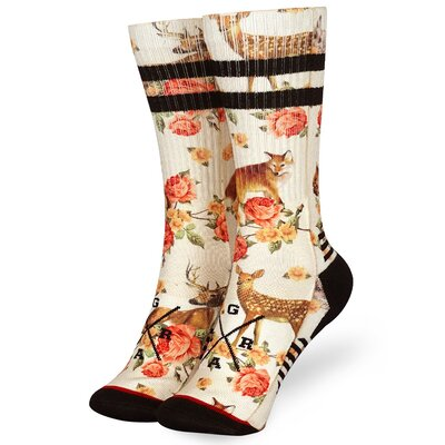 Loose Riders Technical Bike Socks Forest Animals
