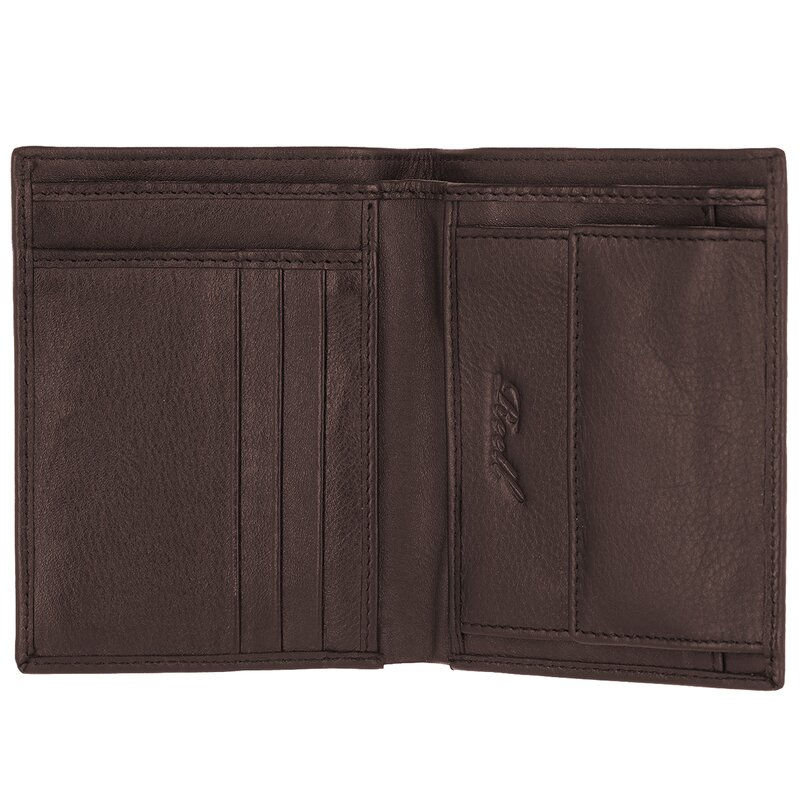 Reell Clean Leather Wallet Brown